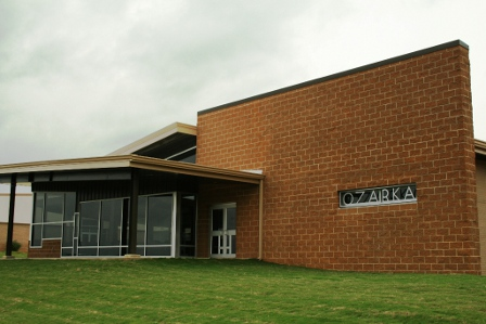 Image of This building was constructed in 2009 and houses a student center with adjacent cyber-café, a conference room, classrooms, a student success center with computers available for student use, and a nursing skills laboratory.