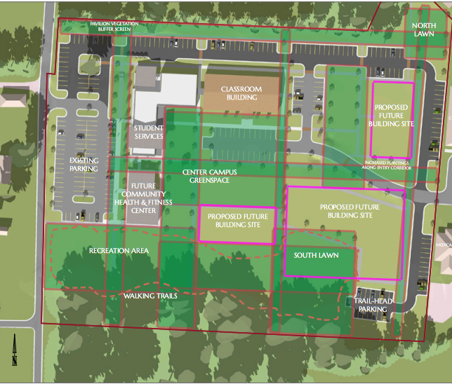 Mountain View College Campus Map.Home Ozarka College