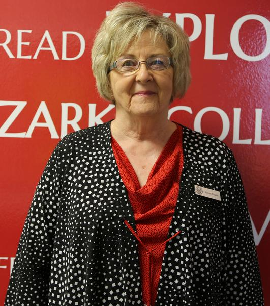 Counts Named Faculty of the Year from Ozarka College Photo