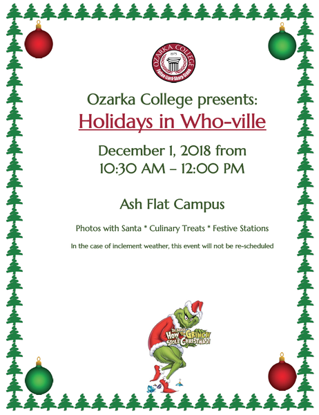 Santa is Coming to Ozarka College - Ash Flat Photo