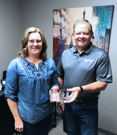 Yancey Selected as Ozarka's Employee of the Quarter Photo