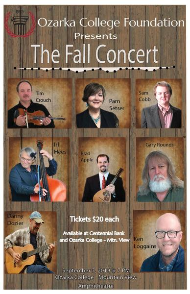 Ozarka College Foundation Presents the Fall Concert
