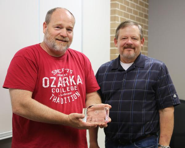 McFarlin Selected as Ozarka's Employee of the Quarter