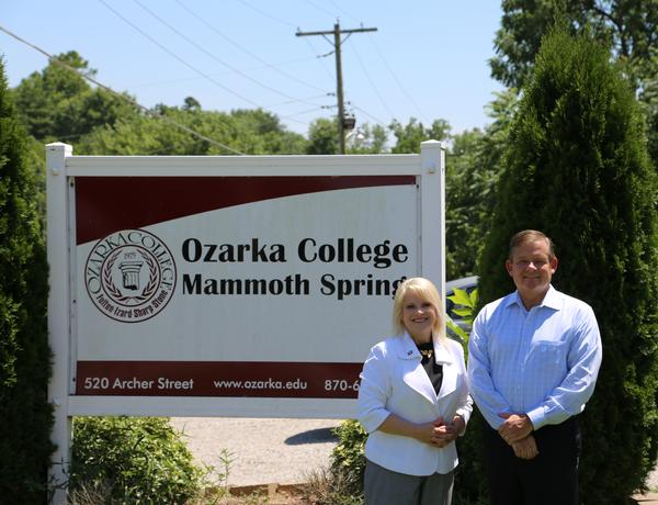 Senator Collins-Smith Awards Grant Funding to Ozarka College Photo