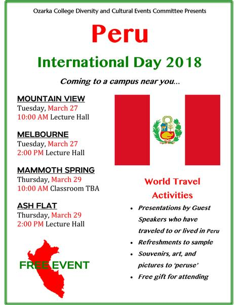 10th Annual International Day Event Scheduled Photo