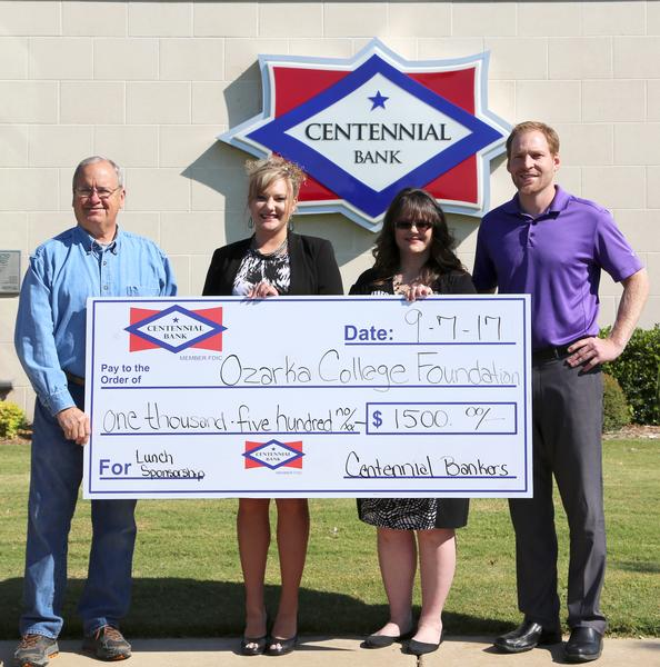 Centennial Bank Sponsors Lunch at Ozarka College Foundation Golf Tournament Photo